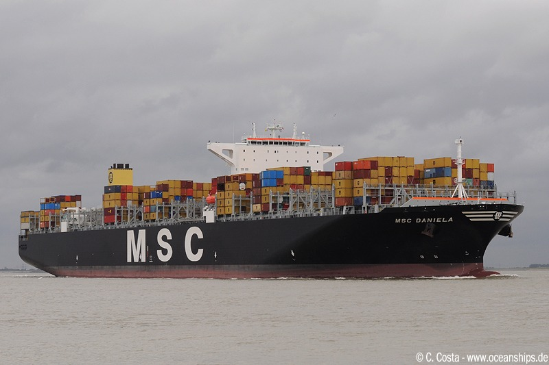 MSC Daniela is very impressive...