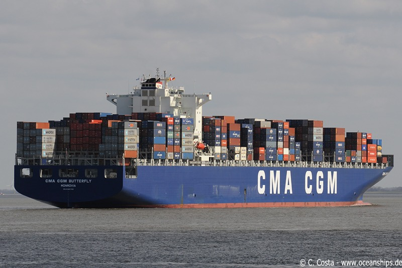 CMA CGM Butterfly18